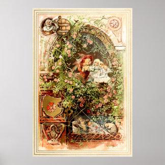 Hermann Vogel -眠れる森の美女 ポスター