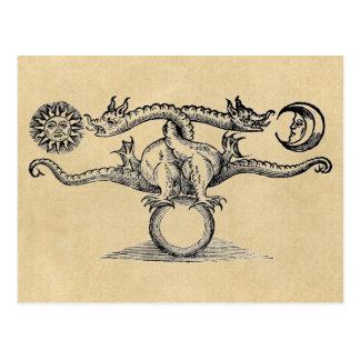 Hermesの鳥の錬金術 ポストカード
