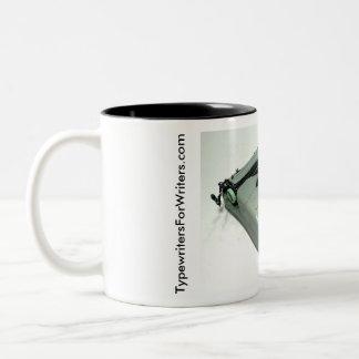 Hermesロケットのタイプライター ツートーンマグカップ