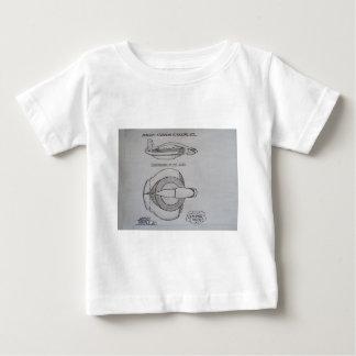 Hermes/Mercurysアトランティスの超音波ジェット機 ベビーTシャツ
