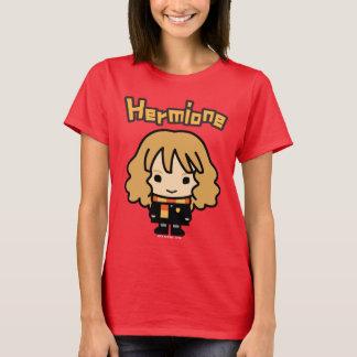 Hermione Grangerのマンガのキャラクタの芸術 Tシャツ