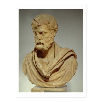 HerodesのAtticus、101-80広告ローマ、大理石の頭部pr ポストカード