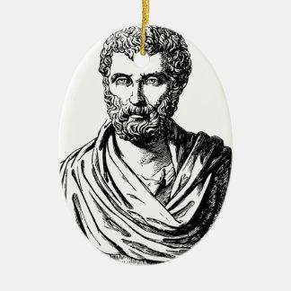 Herodotusのバストのギリシャ人の歴史家 セラミックオーナメント