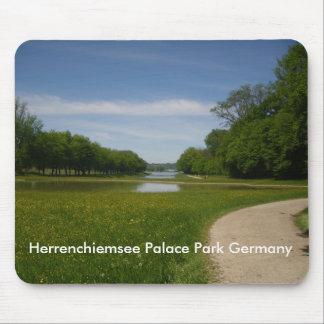 Herrenchiemseeの王宮公園 マウスパッド