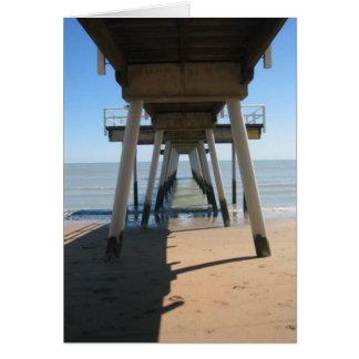 Hervey湾の波止場 カード