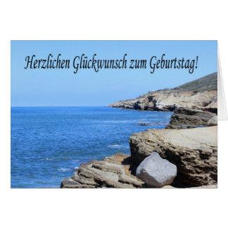 Herzlichen Glueckwunschのzum Geburtstag -サンディエゴ カード
