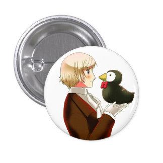 Hetaliaアイスランド及び氏Puffin Button 3.2cm 丸型バッジ