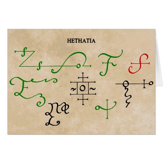 HETHATIA カード