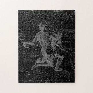 Hevelius著アクエリアスの印の星座の地図 ジグソーパズル
