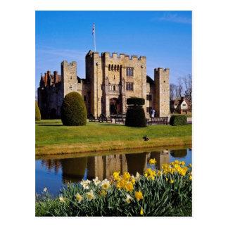 Heverの城、ケントの花 ポストカード