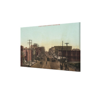 Hewittの道の眺め キャンバスプリント