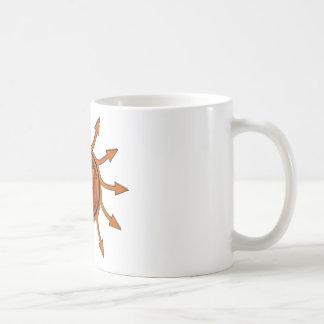 HeyWhatEver Companyの炎の矢 コーヒーマグカップ