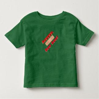 heyyyy、ブーイングのブーイング トドラーTシャツ
