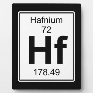 Hf -ハフニウム フォトプラーク
