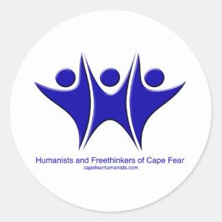 HFCFのロゴ ラウンドシール