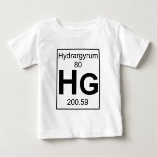 Hg -水銀 ベビーTシャツ