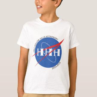 HHHの天文学の2014-15年のロゴ Tシャツ