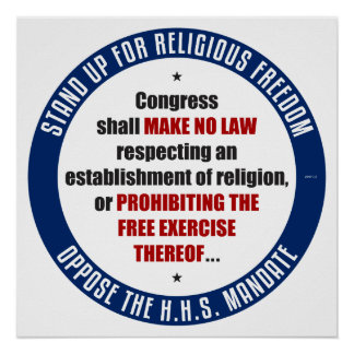 HHSの命令に反対して下さい ポスター