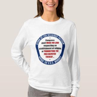 HHSの命令に反対して下さい Tシャツ