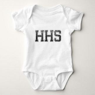 HHSの高等学校-動揺してなヴィンテージ ベビーボディスーツ