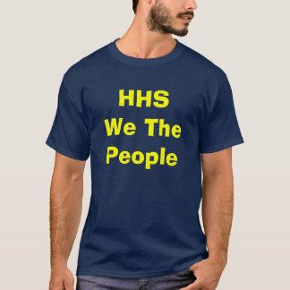 HHSWe人々 Tシャツ
