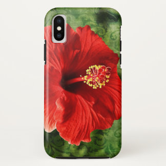 Hibiscus iPhone X ケース