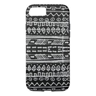 hieroglyphic白黒ネイティブアメリカン- iPhone 8/7ケース