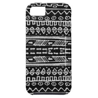 hieroglyphic白黒ネイティブアメリカン- iPhone SE/5/5s ケース