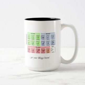 Higgsのボゾンv1b ツートーンマグカップ