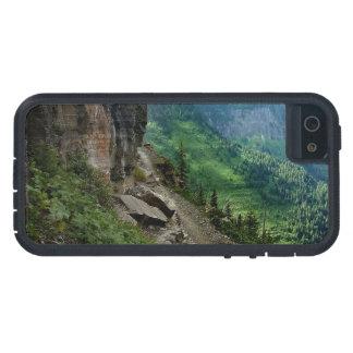 Highlineの道のグレーシャー国立公園モンタナ iPhone SE/5/5s ケース