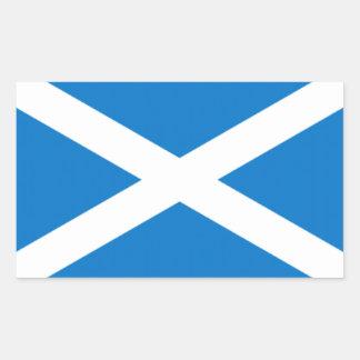 highsaltireによるスコットランドのステッカー 長方形シール