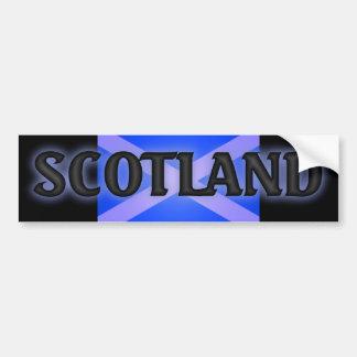 highsaltireによるバンパーステッカースコットランド バンパーステッカー
