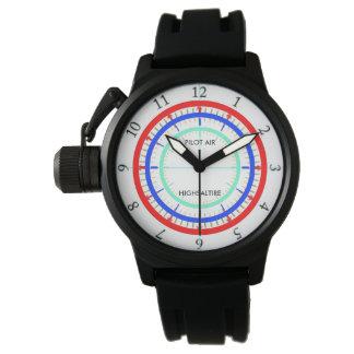 highsaltireによる試験空気パイロットの腕時計 腕時計