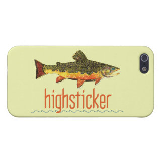 Highstickingはえの漁師 iPhone 5 Case