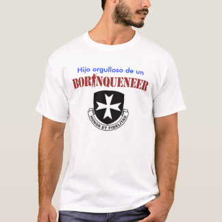 Hijo - BorinqueneerのTシャツ Tシャツ