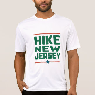 Hike New Jersey (Star) - Wicking Tシャツ