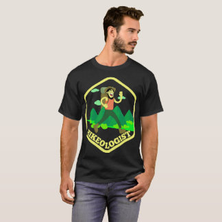 Hikeologistの冒険の素晴らしいアウトドアのハイキング Tシャツ