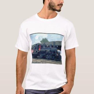 Hillcrestの製材Co.クライマックスのtype_Trains Tシャツ
