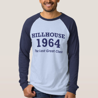 Hillhouse 「64のraglanの野球jersey tシャツ