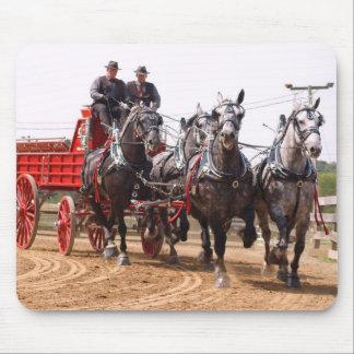 hillsboroのオハイオ州のばん馬ショー マウスパッド