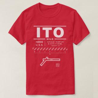 Hiloの国際空港ITOのTシャツ Tシャツ