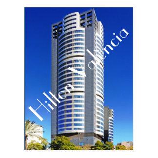 Hilton València、València、スペイン、EU ポストカード
