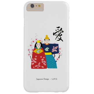 Hina-ningyo and AI, love,Japanese,calligraphy Barely There iPhone 6 Plus ケース
