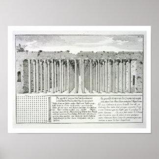 Hippodromeの下の水槽、コンスタンチノープル、Tu ポスター