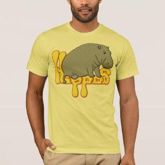Hippopotameのlourd - jaune tシャツ