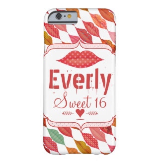 Hipster Vintage Retro Bride唇夫人 Barely There iPhone 6 ケース