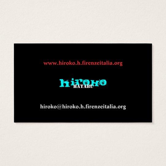 hiroko hatabu 名刺