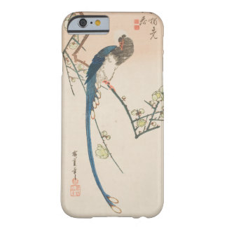 Hiroshigeのプリント-花及びイースター青のカササギ Barely There iPhone 6 ケース