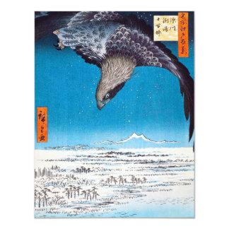 Hiroshigeのワシの招待状 カード