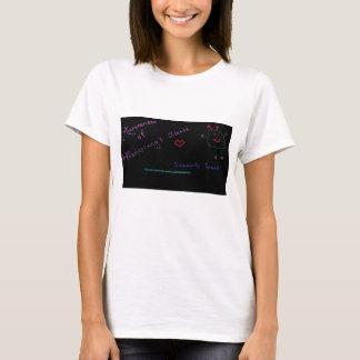 Hirschsprungの病気のサポートそして認識度 Tシャツ